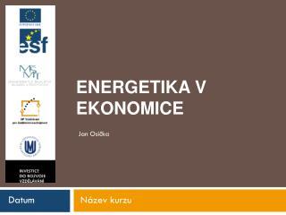 Energetika v Ekonomice