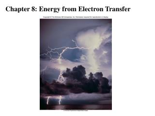 Chapter 8: Energy from Electron Transfer