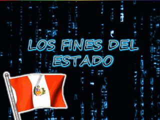 LOS FINES DEL ESTADO