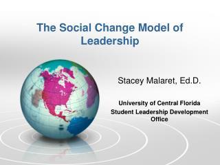 The Social Change Model of Leadership