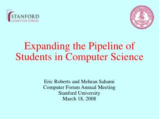 Expanding the Pipeline of Students in Computer Science
