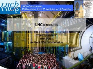 LHCb results