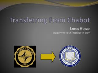 Transferring From Chabot