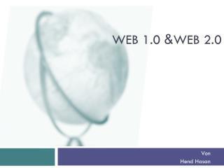 Web 1.0 & Web 2.0