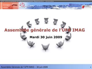 Assemblée générale de l'UFR IMAG