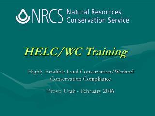 HELC/WC Training