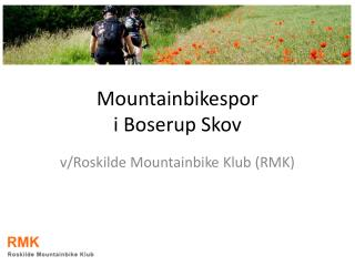 Mountainbikespor  i Boserup Skov