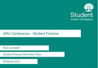 ARU Conference - Student Finance