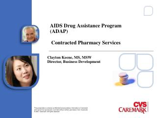 AIDS Drug Assistance Program (ADAP)   Contracted Pharmacy Services