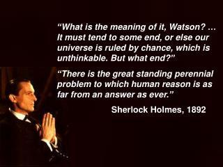 Sherlock Holmes, 1892
