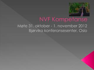 NVF Kompetanse