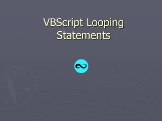 VBScript Looping Statements