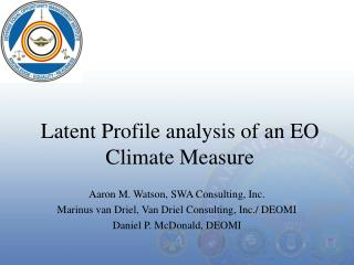 Latent Profile analysis of an EO Climate Measure