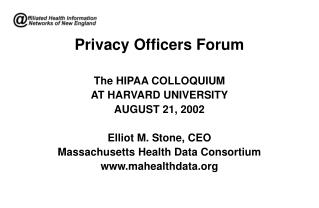 Privacy Officers Forum