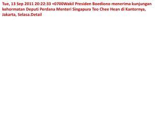 web Wapres menerima Deputi PM Sing Suci