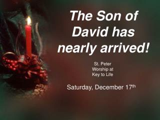St. Peter  Worship at  Key to Life