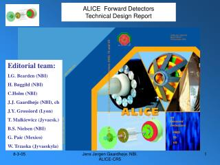 ALICE  Forward Detectors Technical Design Report