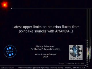 Latest upper limits on neutrino fluxes from point-like sources with AMANDA-II