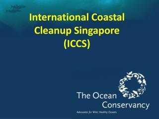 International Coastal Cleanup Singapore (ICCS)