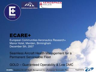 13.00 Welcome and Introduction – John Whalley, Aerospace Wales Forum