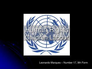 Human Rights Children Labour