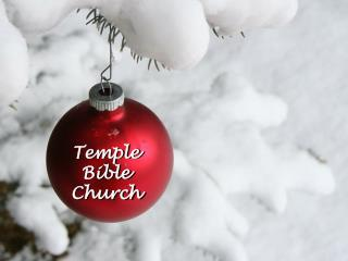 Temple Bible Church