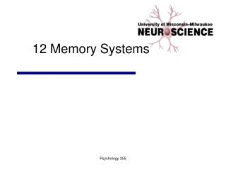 12 Memory Systems