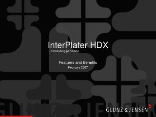 InterPlater HDX