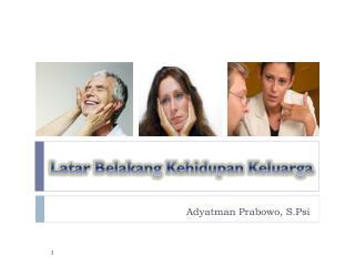 Adyatman Prabowo, S.Psi