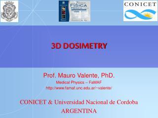 3D DOSIMETRY