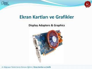 Ekran Kartları ve Grafikler
