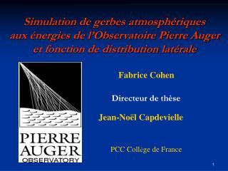 PCC Coll è ge de France
