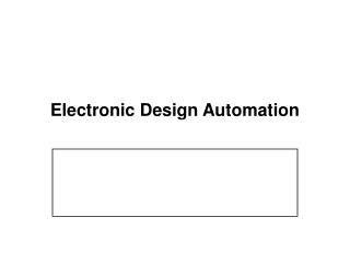 Electronic Design Automation
