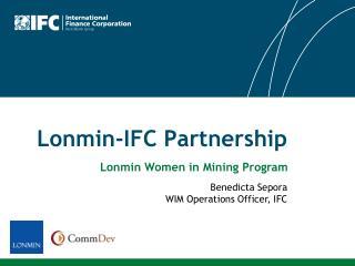 Lonmin-IFC Partnership