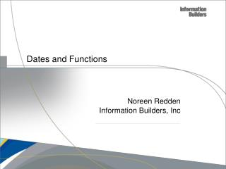 Dates and Functions