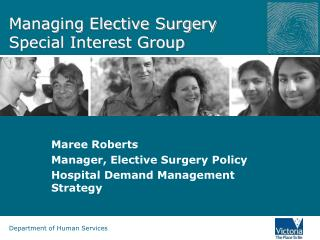 Managing Elective Surgery Special Interest Group