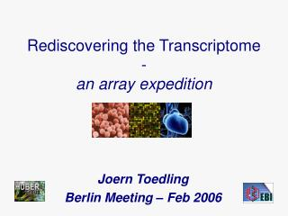 Rediscovering the Transcriptome  - an array expedition