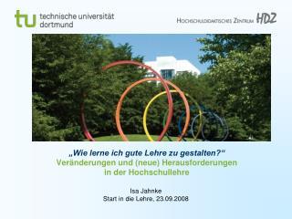 Isa Jahnke  Start in die Lehre, 23.09.2008