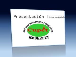 Presentación | Herramientas informáticas