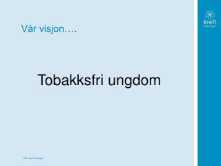 Vår visjon….