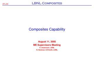 Composites Capability