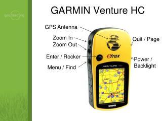 GARMIN Venture HC