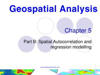 Part B: Spatial Autocorrelation and regression modelling
