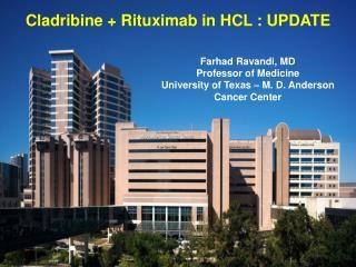 Cladribine +  Rituximab in HCL : UPDATE