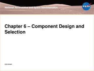 Chapter 6 – Component Design and Selection