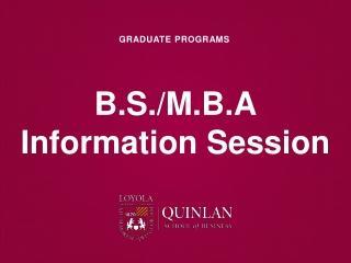 MBA         MBA