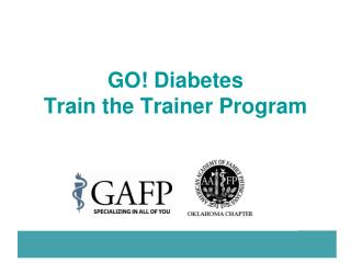 GO Diabetes Train the Trainer Program