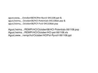 agust,www,....October08/HClPot-RyvsV-041108 &