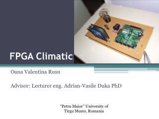 FPGA Climatic
