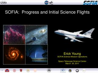 SOFIA:  Progress and Initial Science Flights